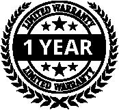 1 Year Undercarriage Warranty