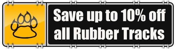 10 Percent Off Rubber Tracks
