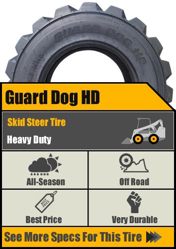 Guard Dog HD Skid Steer Tire