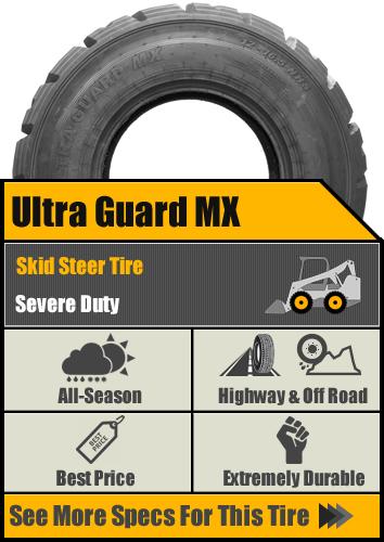 Ultra Guard MX Skid Steer Tire