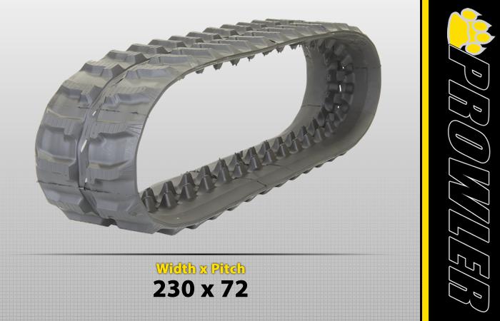 230x72 Excavator Track