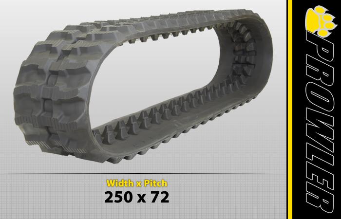 250x72 Excavator Track