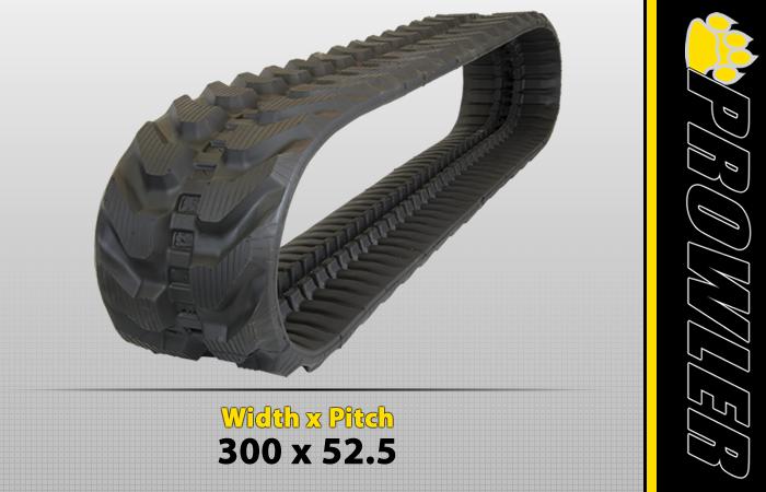 300x52.5 Excavator Track