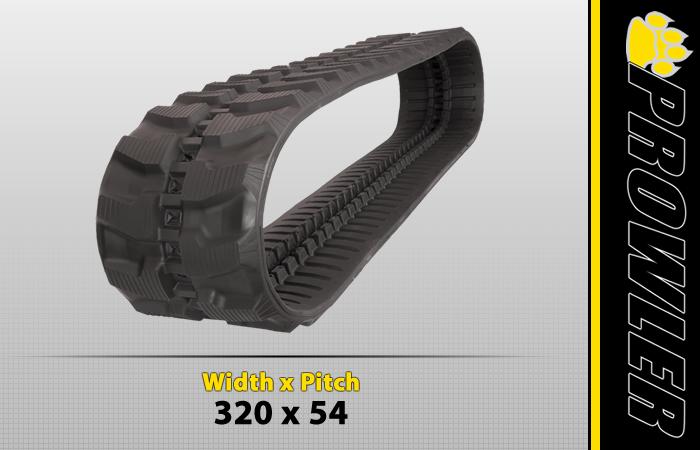 320x54 Excavator Track