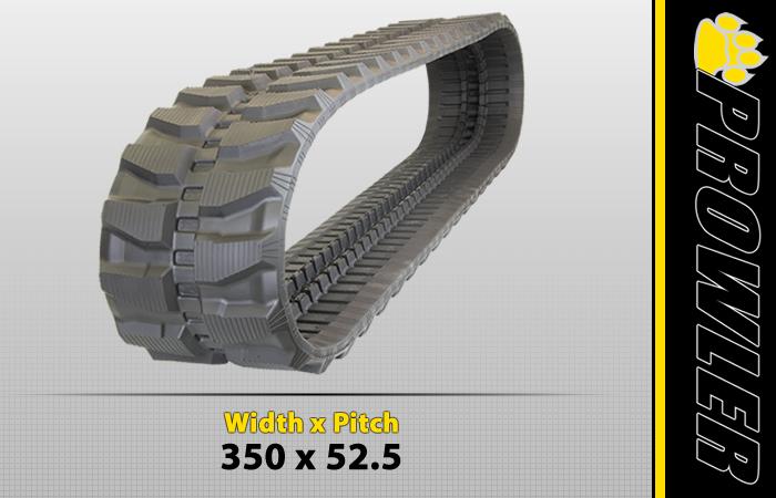 350x52.5 Excavator Track