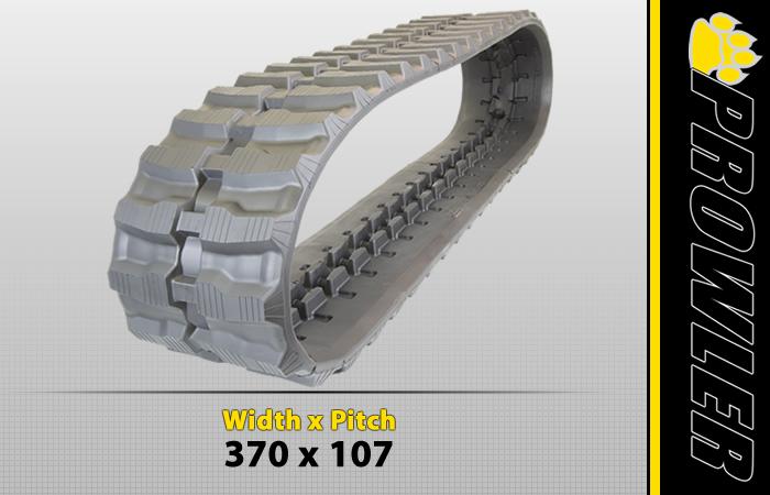 370x107 Excavator Track