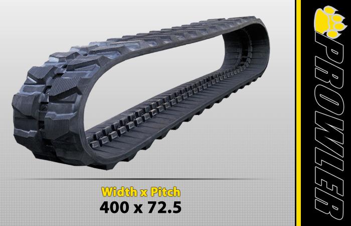 400x72.5 Excavator Track