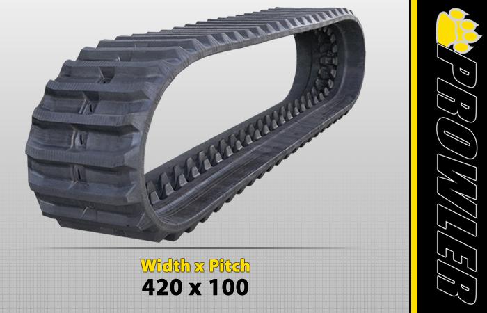 420x100 Excavator Track