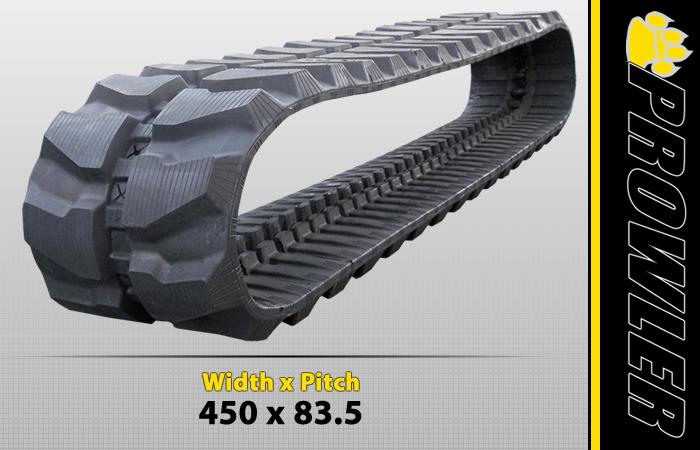 450x83.5 Excavator Track